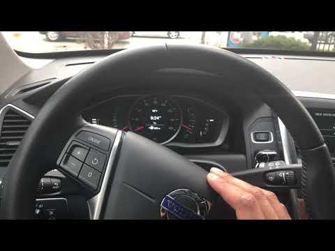 VOLVO XC60 XC70 XC90 - HOW TO TURN ON WINDSHIELD WASHER