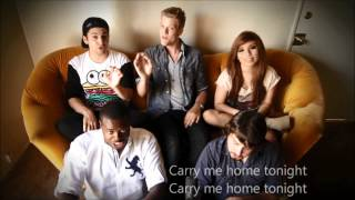 Repeat youtube video Pentatonix - We Are Young (LYRICS HD VIDEO)