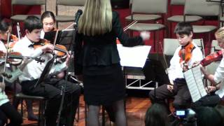 English Fugue - William Selby - Art Sheinberg - NSYO Sinfonia - Northern Sydney Youth Orchestra