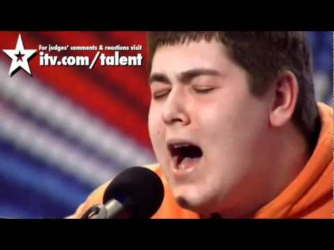 Michael Collings  sings Tracy Chapman-Fast Car Britain's Got  talent 2011