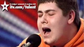 Michael Collings sings Tracy Chapman Fast Car Britain 39 s Got talent 2011