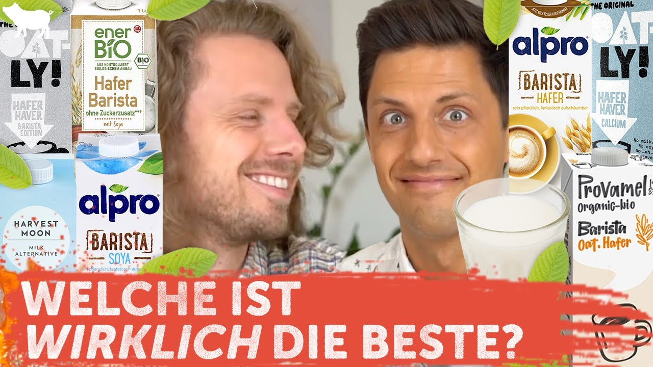 Der ultimative vegane Barista Milch Test