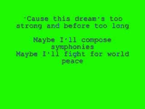 I Was Here (lyrics)