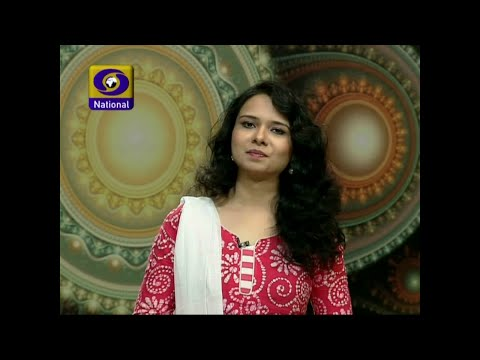 Richa Tiwari Anchoring DD National Kidz Island (Doordarshan Programme) | Host