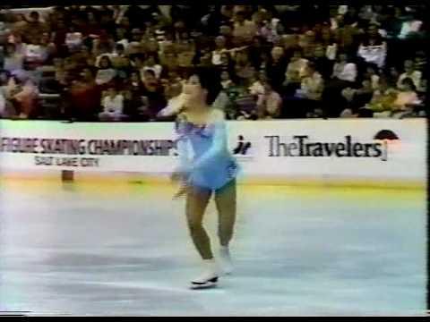 Tiffany Chin - 1984 U.S. Nationals, Ladies' Long Program
