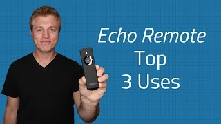 Amazon Echo Voice Remote Top 3 Uses - Music, Privacy & Alexa Commands