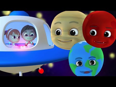 anakanak planet lagu   Belajar tata surya  Lagu pembibitan  Rhymes For Kids  Planet Song