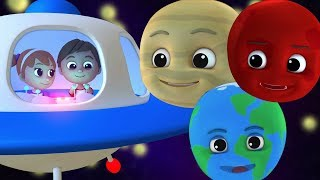 Download anak-anak planet lagu |  Belajar tata surya | Lagu pembibitan | Rhymes For Kids | Planet Song
