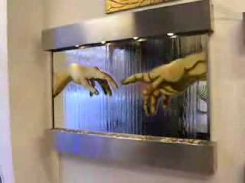 fontana muro dacqua mani.AVI - YouTube