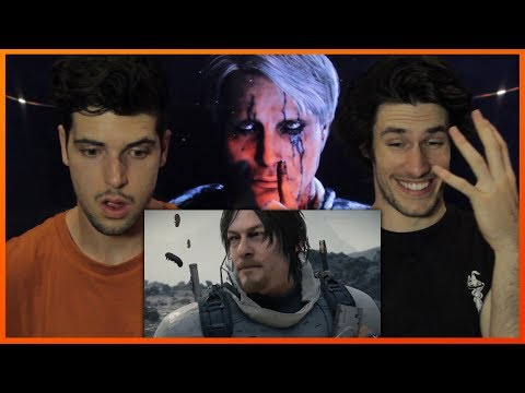 DEATH STRANDING Trailer Reaction & Review (The Game Awards 2017 Gameplay Demo)