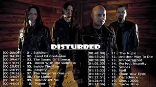 Disturbed Greatest Hits || Disturbed Greatest Hits Playlist 2018