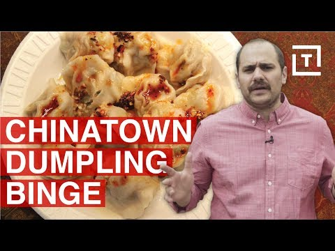 Chinatown in Flushing is NYC's Dumpling Capital || Food/Groups Underground Dumplings