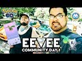 Pokémon GO Vlog 105: Eevee Community Day 1