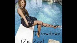 Hannah Montana - Hoedown Throwdown (Zig-Zag) w  Lyrics HQ - YouTube.flv