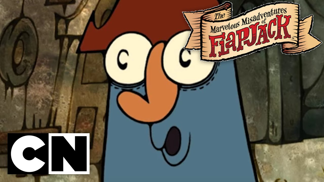 The Marvelous Misadventures of Flapjack - My Guardian Angel is Killing Me!!  (Clip 1)
