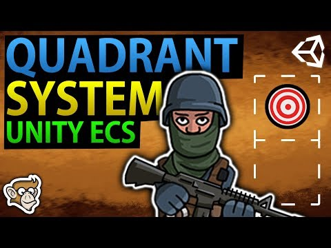 Code Monkey - Quadrant System in Unity ECS (Find Target