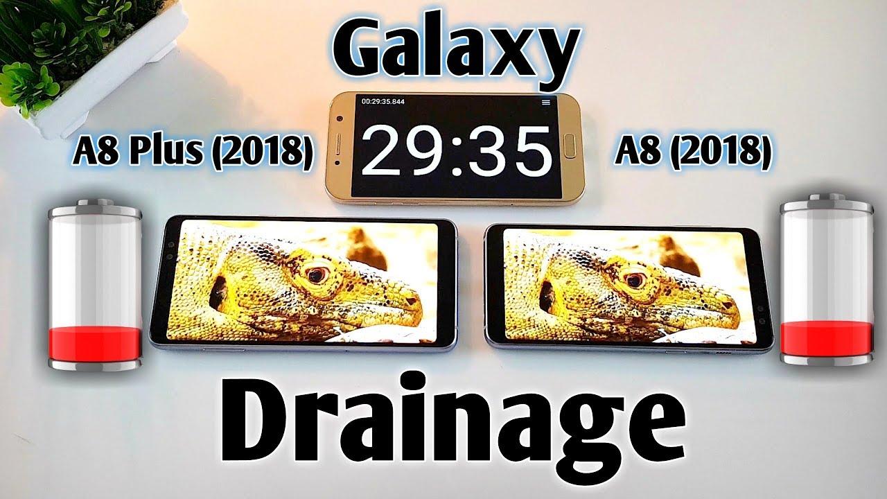 samsung galaxy a8 2018 galaxy a8 plus 2018 battery draining test urdu hindi youtube. Black Bedroom Furniture Sets. Home Design Ideas