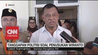Tanggapan Politisi Soal Penusukan Wiranto