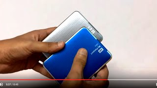 WD 2TB My Passport Ultra External Hard Drive (Blue) Unboxing & Review (INDIA)