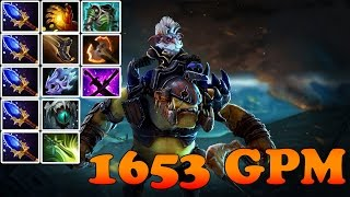 Dota 2 - Patch 6.84 : Alchemist 1653GPM - Aghanim