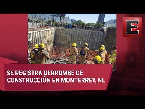 ÚLTIMA HORA: Derrumbe de casas en Monterrey deja un muerto y gente atrapada