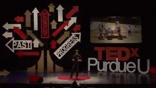Why We Leave Earth: Riley Avron at TEDxPurdueU
