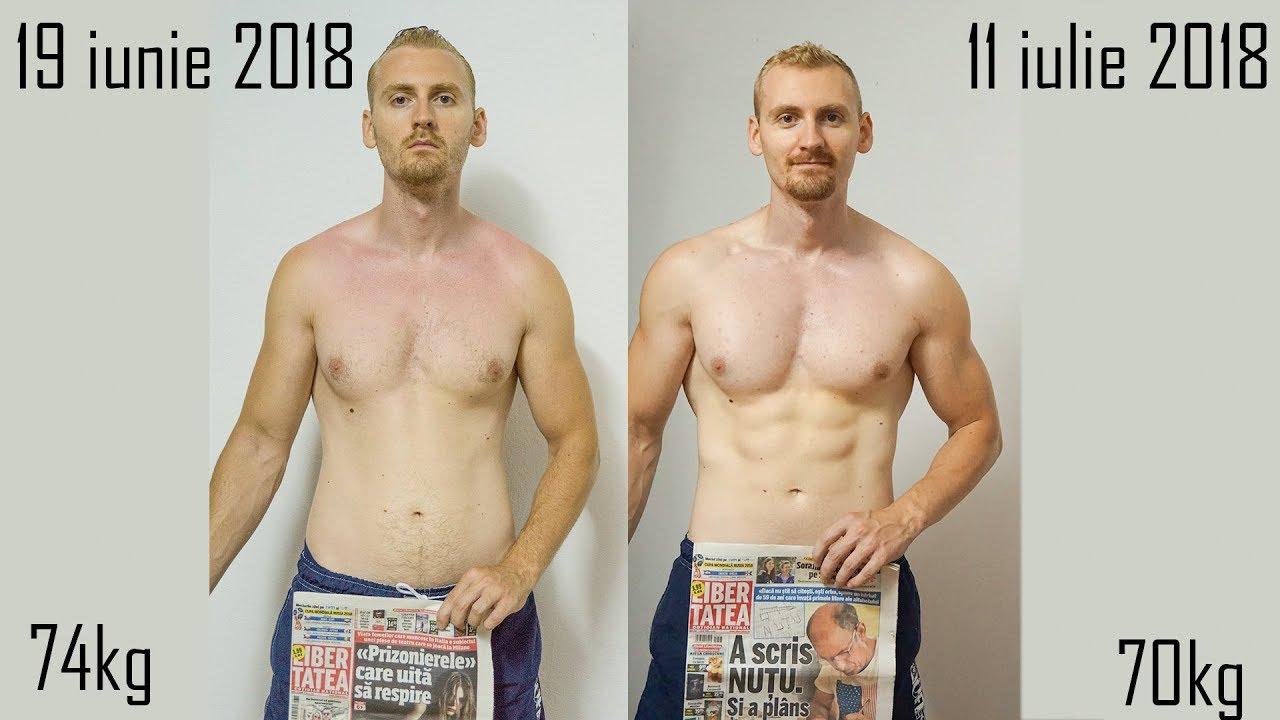2 săptămâni de transformare a corpului