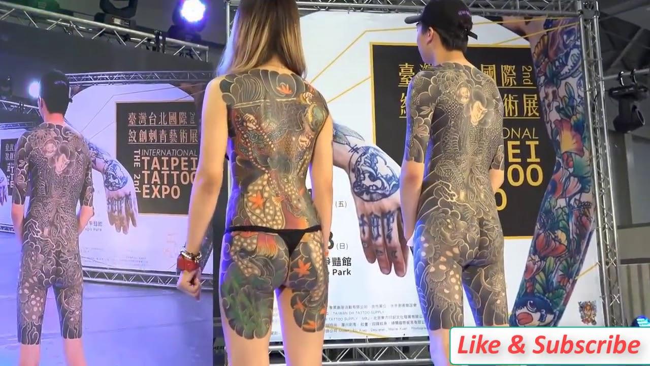 Xăm mình nghệ thuật   Cuộc thi xăm hình thế giới ở Taipei  2019 Tattoo Convention Taipei