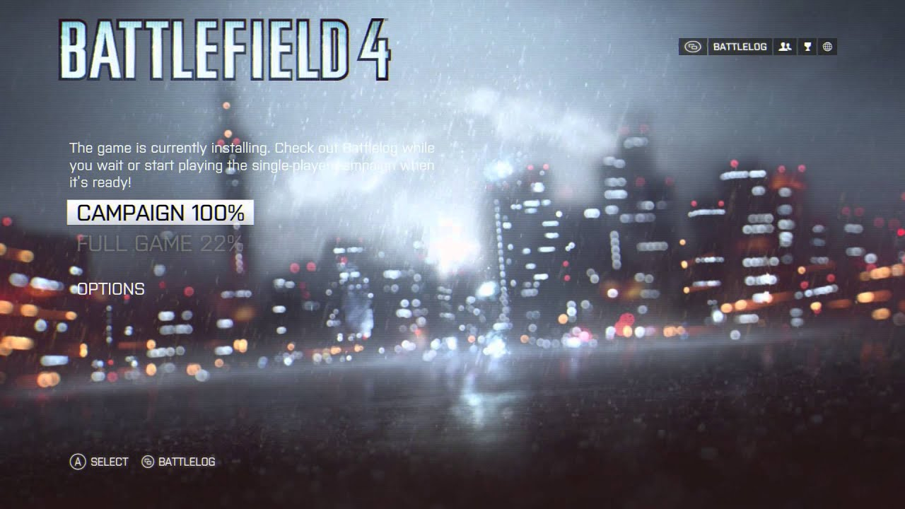 Battlefield 4 Converting Stats From Xbox 360 To Xbox One Youtube
