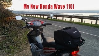 My New Honda Wave 110i