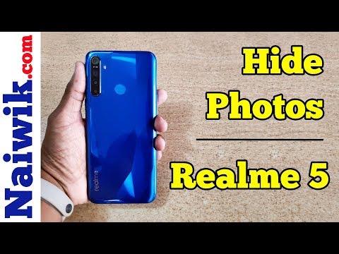 Hide Photos Or Videos In Realme 5 / Realme 5 Pro