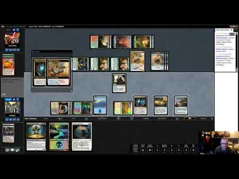 Real.  Cool.  Deck.  Conley Wood's Esper Master Part 2!