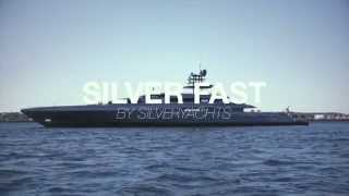 The 2015 Monaco Yacht Show Awards: Silverfast, winner of the Finest new yacht of the 2015 MYS Award