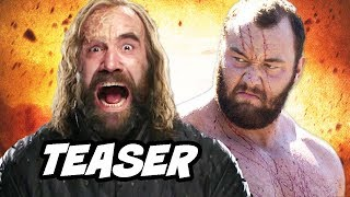 Game Of Thrones Season 8 Teaser - Cleganebowl and The Hound Promo Breakdown