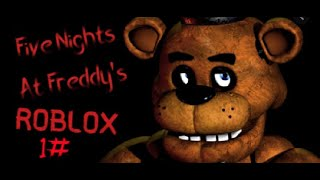 FIVE NIGHTS AT FREDDYS EN ROBLOX - Noche 1   Antler_TKS