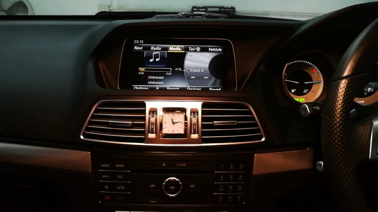BENZ W207 2016 เพิ่มการติดตั้ง DSP AWAVE / DTV / Mirror link By Varith