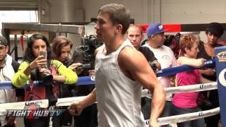 Gennady Golovkin vs. David Lemieux full video- Golovkin Complete workout video