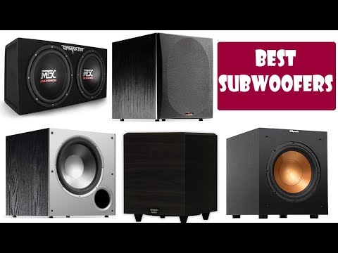 Top 5 Best Subwoofers In Depth Review 2019