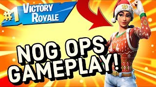 NOG OPS Skin Gameplay In Fortnite Battle Royale