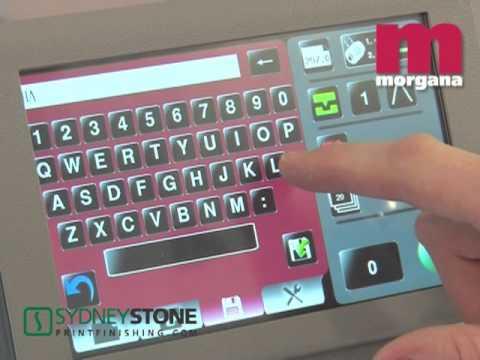 Morgana Autocreaser 50 Pro [Sydney Stone]