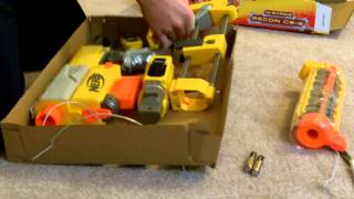 Review of the Nerf Recon CS-6 with range test in HD