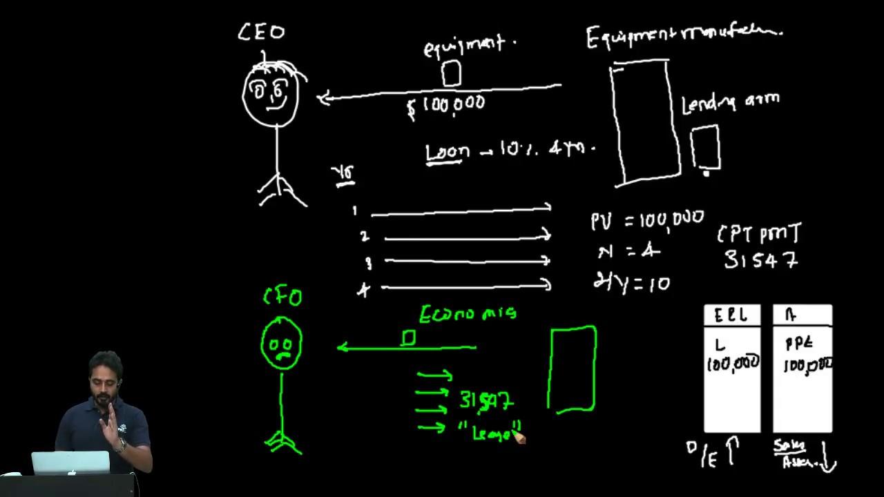 capital lease balance sheet