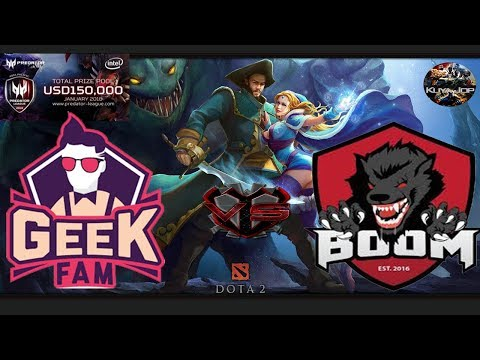 [DOTA 2 PH LIVE] GEEK FAM vs BOOM ID |Bo3| Asia Pacific Predator League 2018|Kuya Jop Caster