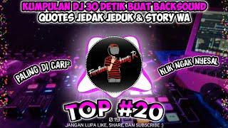 Download Kumpulan Lagu DJ 30 Detik Terupdate Cocok Buat Backsound Quotes Jedak-Jeduk Dan Story Wa