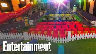 Cinema Chain Horrifies By Building Playgrounds In Theaters | News Flash | Entertainment Weekly