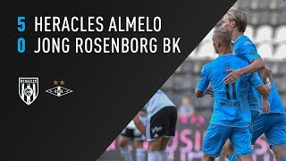 Heracles Almelo - Rosenborg BK u20 5-0 | 31-07-2018 | Samenvatting