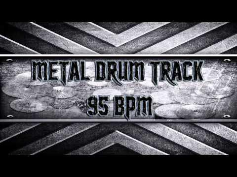 Metal Drum Track 95 BPM (HQ,HD)