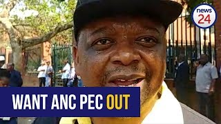 Applicant Lawrence Dube says he wants the ANCKZN PEC out of office today