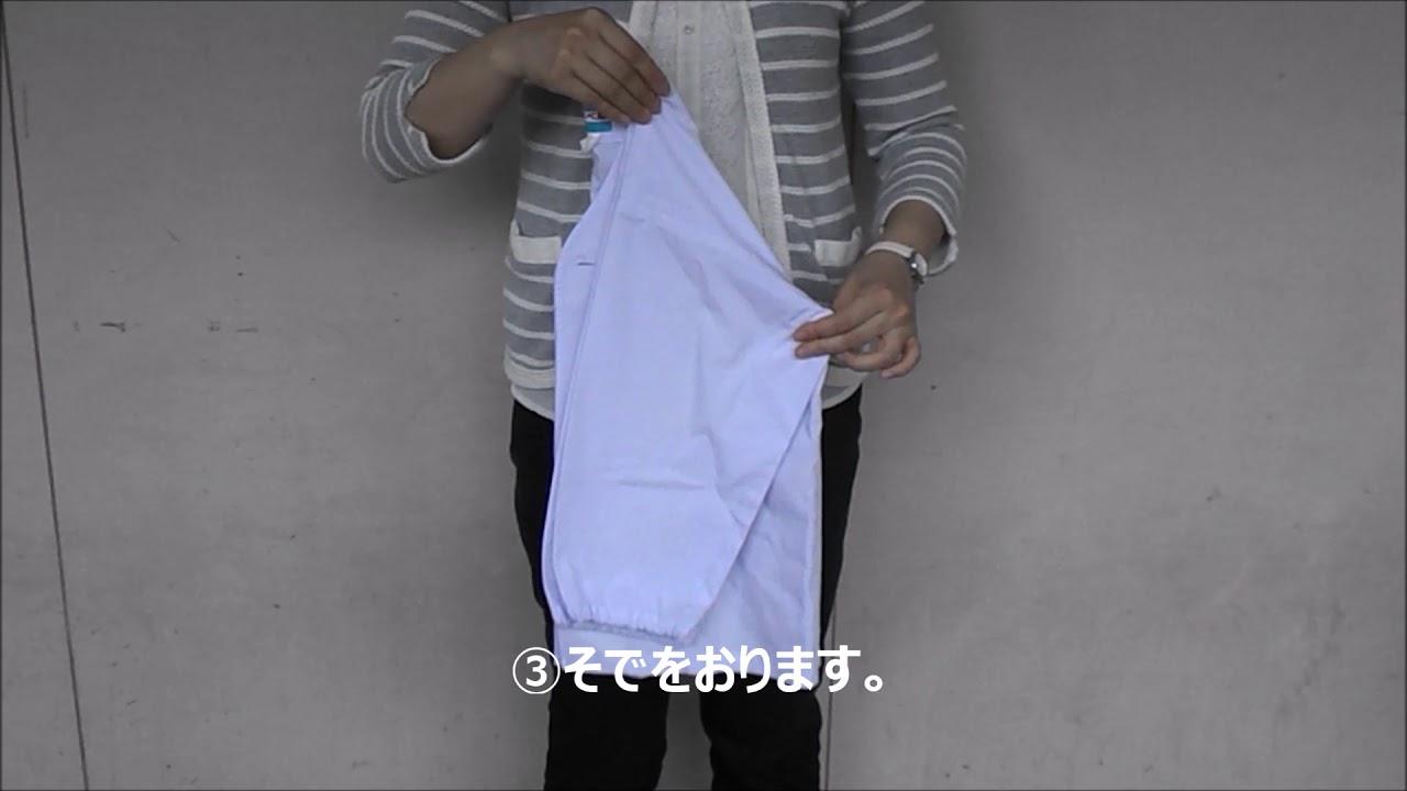 白衣 たたみ 方 服のたたみ方まとめ|コンパクトに洋服を収納するコツやポイントは?