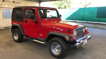 Jeep Wrangler 4.0 Benzina Hardtop